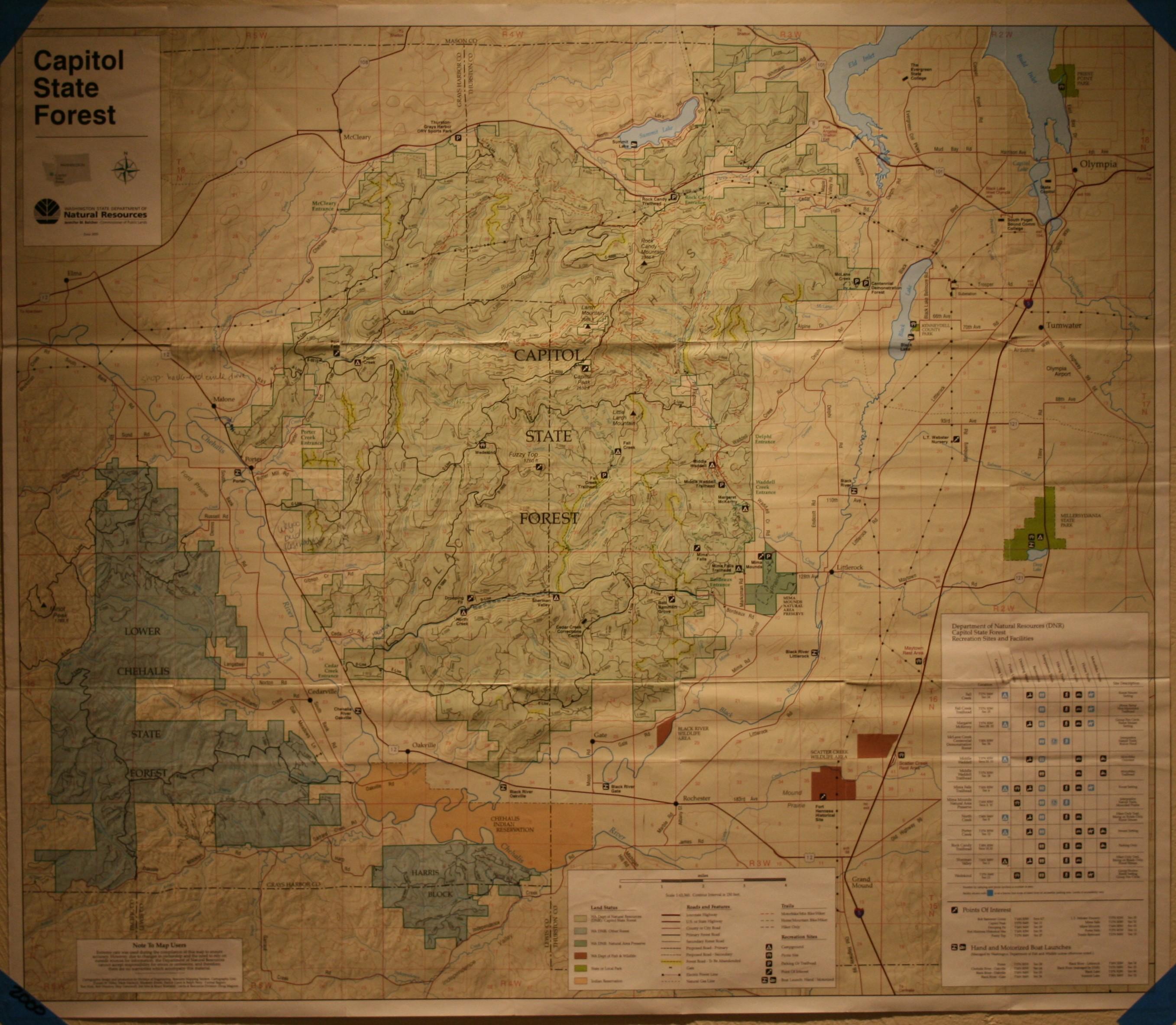 Capitol Forest Washington Capital Forest Washington